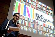 © Filippo Alfero<br /> Salone del Libro 2017<br /> Torino, 20/05/2017<br /> Nella foto: Sala 500, Scrittori americani, Nicola Lagioia