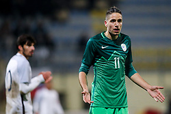 Milan Tucic of Slovenia during football match between Slovenia and France in Qualifying round for European Under-21 Championship 2019, on November 13, 2017 in Sportni park, Domzale, Slovenia. Photo by Morgan Kristan / Sportida