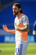 Cardiff City's Marlon Pack (21) during the pre-match warm-up before the EFL Sky Bet Championship match between Cardiff City and Nottingham Forest at the Cardiff City Stadium, Cardiff, Wales on 2 April 2021.