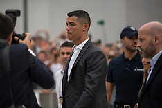 Cristiano Ronaldo at J Medical in Turin - 16 July 2018