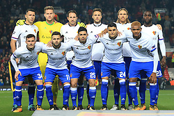 12th September 2017 - UEFA Champions League - Group A - Manchester United v FC Basel - Basel team group - Photo: Simon Stacpoole / Offside.
