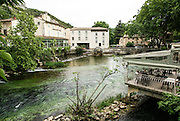 Fontaine-de-Vaucluse (La Fònt de Vauclusa or simply Vauclusa in Occitan) is a commune in the Vaucluse department in the Provence-Alpes-Côte d'Azur region in southeastern France.