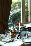 The dining room at Sheen Falls Hotel, Kenmare, Ireland.<br /> Picture by Don MacMonagle -macmonagle.com