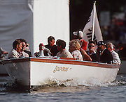 Henley Royal Regatta,  Oxford UBC Launch Bosporos. [Mantatory credit Peter Spurrier/Intersport Images] Messing about on the River 1997 Henley Royal Regatta, Henley, Great Britain