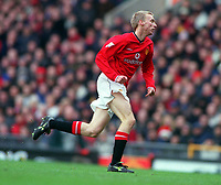 Luke Chadwick - Manchester United. Manchester United v Liverpool. FA Premiership, 17/12/2000. Credit: Colorsport / Andrew Cowie.
