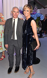 Jo Elvin and her husband Ross Jones at the Glamour Women of The Year Awards 2017 in association with Next held in Berkeley Square Gardens, London England. 6 June 2017.