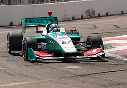 March 9, 2019 - St. Petersburg, FL, U.S. - ST. PETERSBURG, FL - MARCH 09: Dalton Kellett (67) during the Indy Lights Race of St. Petersburg on March 9 in St. Petersburg, FL. (Photo by Andrew Bershaw/Icon Sportswire) (Credit Image: © Andrew Bershaw/Icon SMI via ZUMA Press)