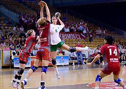 Ana Gros of Olimpija at first finals handball match of Slovenian Women National Championships between RK Olimpija and RK Krim Mercator, on May 16, 2009, in Arena Tivoli, Ljubljana, Slovenia. Olimpija won after 10 years vs Krim Mercator 30:28. (Photo by Vid Ponikvar / Sportida)