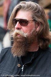 Slipknot's Jim Root at the Iron Horse Saloon during the 78th annual Sturgis Motorcycle Rally. Sturgis, SD. USA. Sunday August 5, 2018. Photography ©2018 Michael Lichter.