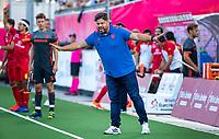 ANTWERPEN - bondscoach Max Caldas (Ned)  tijdens  halve finale  mannen, Nederland-Spanje (3-4) ,  bij het Europees kampioenschap hockey.  COPYRIGHT KOEN SUYK