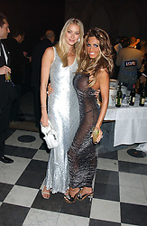 Left to right, HEIDI BISHOP and JORDANat Andy & Patti Wong's annual Chinese New Year party, this year celebrating the year of the dog held at The Royal Courts of Justice, The Strand, London WC2 on 28th January 2006.<br /><br />NON EXCLUSIVE - WORLD RIGHTS