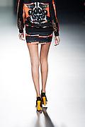Maria Escote in Mercedes-Benz Fashion Week Madrid 2013