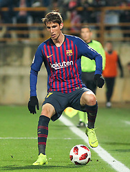 October 31, 2018 - Leon, Leon, Spain - Miranda of Barcelona in action during the King Spanish championship, , football match between Cultural Leonesa and Barcelona, October 31, in Reino de Leon Stadium in Leon, Spain. (Credit Image: © AFP7 via ZUMA Wire)
