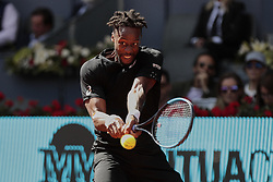 May 9, 2019 - Madrid, Madrid, Spain - Gael Monfils during the Mutua Madrid Open Masters match on day 7 at Caja Magica in Madrid, Spain. May 09, 2019. (Credit Image: © A. Ware/NurPhoto via ZUMA Press)
