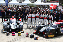 June 10, 2018 - Le Mans, FRANCE - 34 JACKIE CHAN DC RACING (CHN) LIGIER JSP217 GIBSON RICKY TAYLOR (USA) COME LEDOGAR (FRA) DAVID HEINEMEIER HANSSON (DNK) #33 JACKIE CHAN DC RACING (CHN) LIGIER JSP217 GIBSON DAVID CHENG (CHN) NICHOLLAS BOULLE (USA) PIERRE NICOLET  (Credit Image: © Panoramic via ZUMA Press)