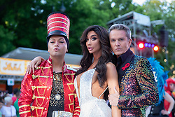 08.06.2019, Rathaus, Wien, AUT, Life Ball im Bild v. l. Julian Stoeckl, Jasmin Petty, Alfons Haider // during the Life Ball at the Rathaus in Wien, Austria on 2019/06/08. EXPA Pictures © 2019, PhotoCredit: EXPA/ Florian Schroetter