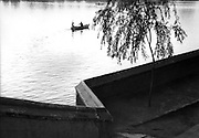 C011-33_Tom Hutchins_Boating in the late afternoon, Peihei Park, Peking, China 1956 A3.tif
