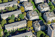Nederland, Noord-Holland, Amsterdam, 27-09-2015; Oud-West, nieuwbouw op WG-terrein. Nicolaas Beetsstraat, Jeltje de Bosch Kemperpad<br /> Old western part of Amsterdam.<br /> luchtfoto (toeslag op standard tarieven);<br /> aerial photo (additional fee required);<br /> copyright foto/photo Siebe Swart