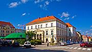 Ratusz w Złotoryi, Polska<br /> Town hall in Złotoryja, Poland