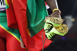 Olympics - London 2012 Olympic Games - Athletics - 6/8/12 Athletics - .golden shoes of Kirani James (GRE).© pixathlon