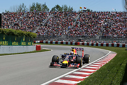 06.06.2015, Circuit Gilles Villeneuve, Montreal, CAN, FIA, Formel 1, Grand Prix von Kanada, Qualifying, im Bild Daniel Ricciardo (AUS) Red Bull Racing RB11 // during Qualifyings of the Canadian Formula One Grand Prix at the Circuit Gilles Villeneuve in Montreal, Canada on 2015/06/06. EXPA Pictures © 2015, PhotoCredit: EXPA/ Sutton Images/ Mirko Stange<br /> <br /> *****ATTENTION - for AUT, SLO, CRO, SRB, BIH, MAZ only*****