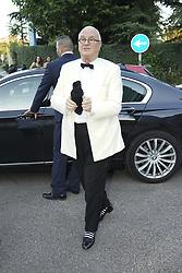 July 12, 2018 - Madrid, Spain - Manolo Blahnik attends Vogue 30th Anniversary Party at Casa Velazquez on July 12, 2018 in Madrid, Spain. (Credit Image: © Oscar Gonzalez/NurPhoto via ZUMA Press)