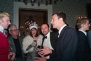 HENRY CONWAY; NICKY HASLAM; BEN GOLDSMITH, Tatler magazine Jubilee party with Thomas Pink. The Ritz, Piccadilly. London. 2 May 2012