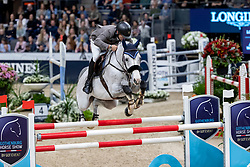 CARRASCO Rodrigo (CHI), Acapulco FZ<br /> Göteborg - Gothenburg Horse Show 2019 <br /> Longines FEI World Cup™ Final II<br /> Int. jumping competition with jump-off (1.50 - 1.60 m)<br /> Longines FEI Jumping World Cup™ Final and FEI Dressage World Cup™ Final<br /> 05. April 2019<br /> © www.sportfotos-lafrentz.de/Stefan Lafrentz