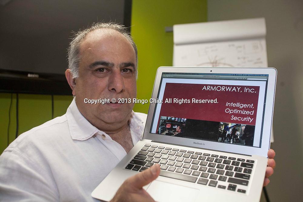 Zareh Baghdasarian, CEO of  Armorway, Inc. (Photo by Ringo Chiu/PHOTOFORMULA.com)