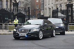 © Licensed to London News Pictures. 03/03/2021. London, UK. Chancellor Rishi Sunak leaves Downing Street for Parliament where he will deliver his budget. Photo credit: Peter Macdiarmid/LNP