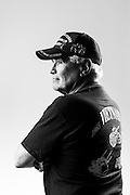 "Bruce M. Geiger<br /> Army<br /> O-2<br /> Automatic Weapons<br /> Self Propelled<br /> Platoon Commander<br /> Sept. 26, 1966 - Sept. 24, 1968<br /> Vietnam War<br /> <br /> ""Seven weeks at the siege of Khe Sanh, RVN.""<br /> <br /> Veterans Portrait Project<br /> West Point, NY"