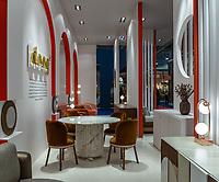 Фотосъемка стенда дизайн-бренда DOOQ (Португалия) на стенде выставки Maison et Objet, Париж.