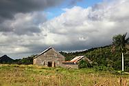 Barns, El Moncada, Pinar del Rio, Cuba.