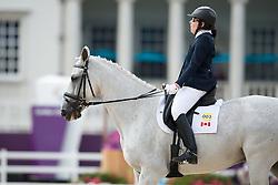 Schloss Jody (CAN) - Inspector Rebus <br /> Team Test - Grade Ia - Dressage <br /> London 2012 Paralympic Games<br /> © Hippo Foto - Jon Stroud