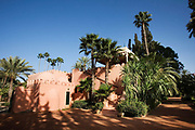 """Princess Hetti von Bohlen und Halbach, the daughter-in-law of the German arms magnate at her house Bled Targui in Marrakesh. The scene of many a lavish and fame filled party. In the 1970s, when the international set discovered the charms of Morocco's haute bohemia, the princess played hostess to them all at the house. """"It was a very exciting life,"""" she recalled. """"Saturday was our day to entertain. Those were the 24-hour parties that went on and on."""""""