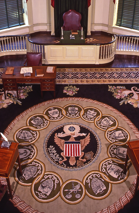 Senate Chamber, Congress Hall, Independence Hall, Independence National Historic Park, Philadelphia, PA