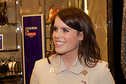 HRH Princess Beatrice of York (not in shot) and HRH Princess Eugenie of York attend the fashion fair Bread & Butter to support the British textile industry during their visit to Berlin, January 17, 2013. Photo by Imago / i-Images...UK ONLY