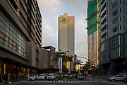 The Holiday Inn and Suites Makati located in the Glorietta Complex, Palm Drive, Makati, Metro Manila, Philippines.