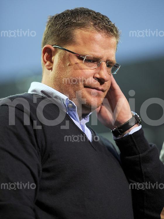 FUSSBALL   1. BUNDESLIGA    SAISON 2012/2013    8. Spieltag   SV Werder Bremen - Borussia Moenchengladbach  20.10.2012 Max Eberl (Borussia Moenchengladbach)