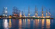 Gdynia (woj. pomorskie) 16.08.2014. Zlot żaglowców w Gdyni