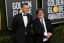 January 6, 2019 - Los Angeles, California, U.S. - John Sloss and Charlie Wessler during red carpet arrivals for the 76th Annual Golden Globe Awards at The Beverly Hilton Hotel. (Credit Image: © Kevin Sullivan via ZUMA Wire)