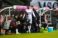Gilles SUNU  - 04.03.2015 - Evian Thonon / Lorient - Match en retard de la 26eme journee de Ligue 1 <br />Photo : Jean Paul Thomas / Icon Sport