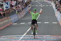 24.05.2017, Bormio, ITA, Giro d Italia 2017, 17. Etappe, Tirano nach Canazei, Val di Fassa, im Bild Pierre Roland (FRA, Cannondale-Drapac Pro Cycling Team) // Pierre Roland (FRA, Cannondale-Drapac Pro Cycling Team)during the 100th Giro d' Italia cycling race at Stage 17 from Tirano to Canazei, Val di Fassa, Italy on 2017/05/24. EXPA Pictures © 2017, PhotoCredit: EXPA/ R. Eisenbauer