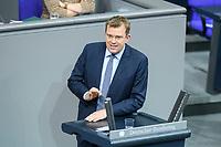 04 NOV 2020, BERLIN/GERMANY:<br /> Dr. Reinhard Brandl, MdB, CSU, waehrend einer Debatte zum Bericht des Verteidigungsausschusses als 1. Untersuchungsausschuss, Plenum, Reichstagsgebaeude, Deutscher Bundestag<br /> IMAGE: 20201104-01-059<br /> KEYWORDS: Rede, speech
