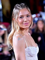 Sienna Miller attending the Lost City of Z UK Premiere at the British Museum, London.