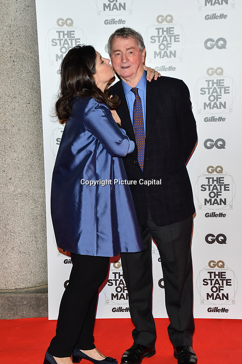 Kimberly Quinn and Stephen Quinn Arrivers at GQ 30th Anniversary celebration at Sushisamba, The Market, Convent Garden on 29 October 2018.