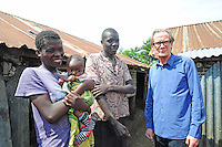 BILL WITH JOSEPH AND MIVIANCE IN SHAURIYAKO SLUMS,(EXTREAM POVERTY- MAL NUTRITION)