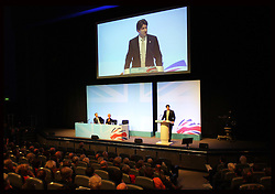 Andrew Feldman speaking at The Road to 2015 'Meet The Chairmen' at the Conservative Party Conference in Birmingham, Sunday,  October 7th 2012. Photo by: Stephen Lock / i-Images