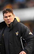 Wycombe. GREAT BRITAIN, Wasps forwards coach Craig DOWD, conduction a pre game session, before,  the Guinness Premiership game between, London Wasps and Leicester Tigers on 25/11/2006, played at  Adams<br /> <br />  Park, ENGLAND. Photo, Peter Spurrier/Intersport-images]