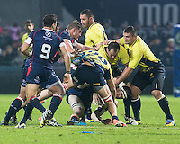 John Cullen of USA during their  rugby test match between Romania and USA, on National Stadium Arc de Triomphe in Bucharest, November 8, 2014.  Romania lose the match against USA, final score 17-27.